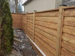 Finishing Touches on this fence