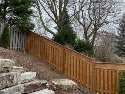 Slope and Fence