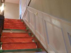 Stair case upgrades & Paneling